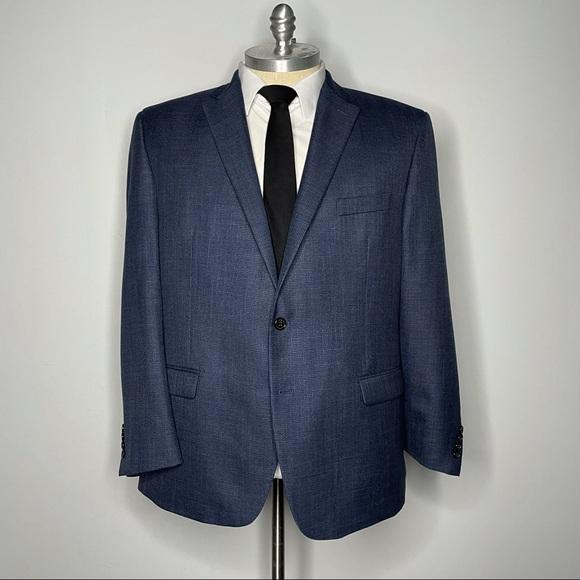 Ralph Lauren Blazer Navy Blue 50R Mens Sport Coat